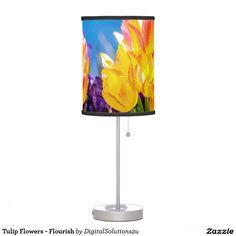 Tulip Flowers - Flourish Table Lamp