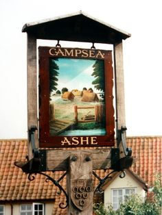 Campsea Ashe Village Sign  Suffolk, Campsea Ashe