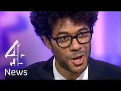 Who's interviewing who?! Richard Ayoade speaks to Krishnan Guru-Murthy - YouTube