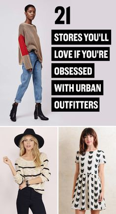 21 Stores You'll Love If You Are Addicted To Urban Outfitters