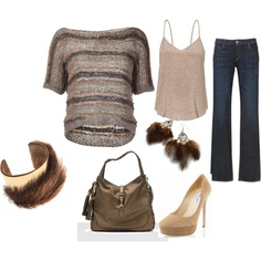 my first Polyvore outfit!!!