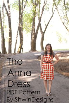 Shwin&Shwin: The Anna Dress || With elastic waist || Tutorial