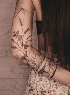 Dope Tattoos, Pretty Tattoos, Mini Tattoos, Beautiful Tattoos, Body Art Tattoos, Small Tattoos, Sleeve Tattoos, Back Of Leg Tattoos, Cool Arm Tattoos