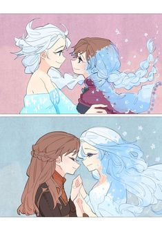 "elsanna-art-archive: """"savior of my life. lovely sisters"" Art by lsll "" Disney Princess Drawings, Disney Princess Art, Disney Fan Art, Disney Drawings, Frozen Art, Frozen Movie, Disney Frozen, Disney Kunst, Arte Disney"