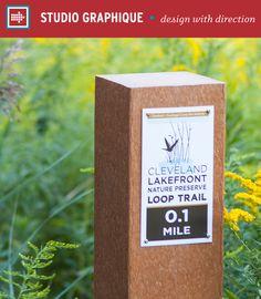 Cleveland Lakefront Nature Preserve – Studio Graphique // Branding   Placemaking   Wayfinding   Communities   Venues