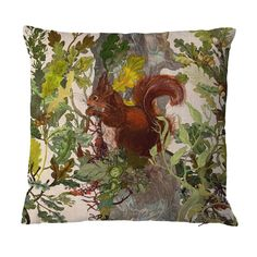 Timorous Beasties Cushions - Red Squirrel