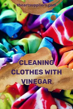 Cleaning clothes with vinegar  How to get dye out of clothes  How to get red dye out of clothes