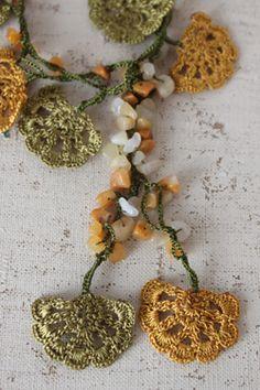 Turkije Goods & Oya & kilim SOFA ★ Turkije Breien Bonjukuoya Oya kralen ketting accessoires