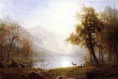 Долина в Королевском каньоне. Альберт Бирштадт