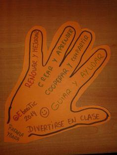 "Elisa Benitez en Twitter: ""5 dedos, 5 deseos #refrescatuaula, mis alumnos de 4DC también http://t.co/EhAxmTjvKQ cc #Matematicas_CDL_14 http://t.co/YSSd8RdvgF"""