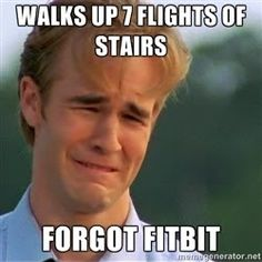 Fitbit problems. Hahahhahahah @Anna Powell