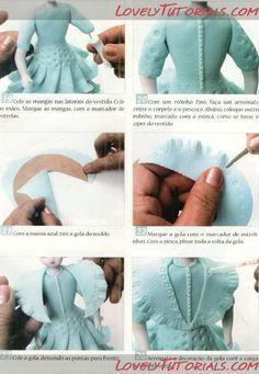 фея сидя-How to Make a sitting Fondant Fairy - Мастер-классы по украшению тортов…