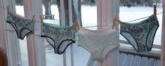 Sy trosor – de går att sy med sicksacksöm på vilken symaskin som helst   Hobby och hantverk   svenska.yle.fi Textiles, Bikinis, Swimwear, Thong Bikini, Sew, Ideas Para, Fashion, Bathing Suits, Moda