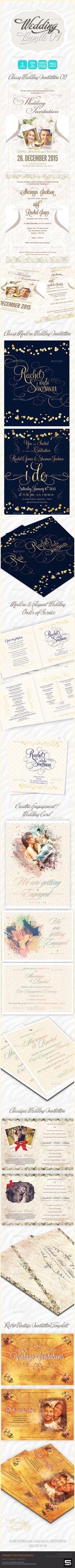 Wedding Invitation Bundle 04