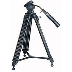 Flagship tripod with remote control and pan handle