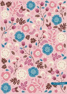 Vintage Blooms on Behance