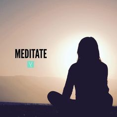 Meditate.   Meditation is something I practiced only when in yoga class at my old gym back in high school/college. It was usually at the end of the class when youre doing shavasana and to be honest my mind had no idea what to do. I usually just daydreamed with my eyes closed because I didnt understand what the tool of meditation really was or how to tap into it.  As Ive begun this new journey I have come to realize how to open my mind up to a purely thoughtless nature. It wasnt easy at first…