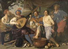 Theodoor Roumbouts, The Five Senses / De vijf zintuigen / Die Fünf Sinne, 1632, Museum voor Schone Kunsten Gent