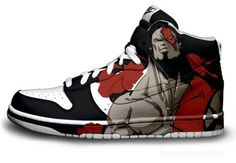 The God Of War? Apparently, also the god of sneakers.
