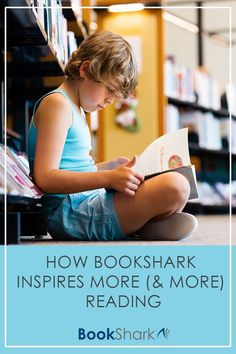 BookShark has done the research and carefully chosen novels and non-fiction that will captivate your children and help them learn more about a particular era through living books versus dry textbooks. For many children, the books they read through BookShark serve as a springboard for even more reading. #books #kidlit #homeschooling #reading