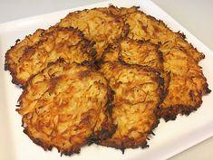 Sprøde knoldselleri-rösti med bacon, løg og havsalt - Rodfrugt-røsti - LCHF