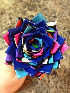 Duct Tape Flower Pen! $3