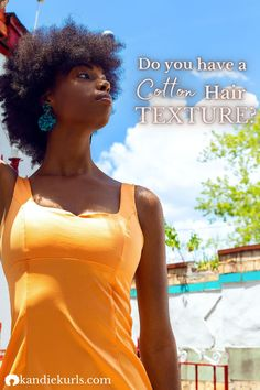 This texture type has a low natural sheen causing it to appear drier than spongy hair when dried. However, when this hair is stretched it can project high shine. find out if you have cotton hair texture so you can build an accurate hair regimen. #hairtype #curlpattern #type3 #type4 #regimen #tips Natural Hair Regimen, Natural Hair Tips, Natural Hair Styles, Hair Facts, Curl Pattern, Hair Density, Great Hairstyles, Relaxed Hair, Hair Care Routine
