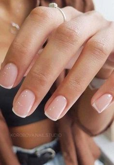 The best nail art designs for spring - - We're entering a new year and heading to a new season. A season of soft, romantic and feminine , it's a spring season. Frensh Nails, Cute Nails, Pretty Nails, Coffin Nails, Pretty Short Nails, Cute Simple Nails, Manicures, Zebra Nails, Work Nails