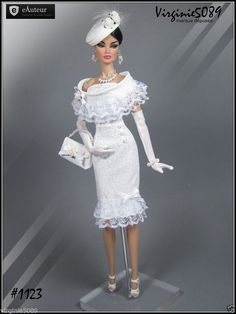 Tenue Outfit Accessoires Pour Barbie Silkstone Vintage Fashion Royalty 1123   eBay