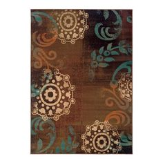I pinned this Mendosa Rug in Brown from the Oak Orchard Studios event at Joss and Main!