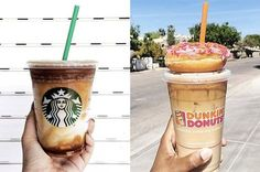 We Know Whether You're A Starbucks Person Or A Dunkin' Person