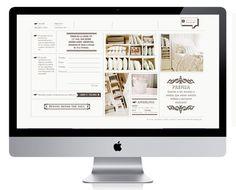 Angelina Linen. Website. Diseñada por Bunker3022.