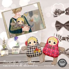 NuDoLu Voyage Tricot de Matriochka NOV&DEC for TGGS AD | Flickr - Photo Sharing!