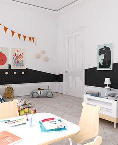 Eclectic kids room design by My Paradissi ©Eleni Psyllaki