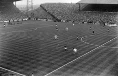 This fantastic old picture seems to illustrate quite well how different our major grounds were a couple of generations ago - this is Elland Road during a match between Leeds and Manchester United in 1970, a game that finished in a 2-2 draw