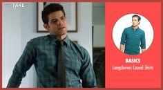 Basics Longsleeves Casual Shirts inspired by Winn Schott  in Supergirl | TheTake