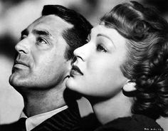 """Cary Grant and June Duprez in """"None But The Lonely Heart"""" (1944)."""