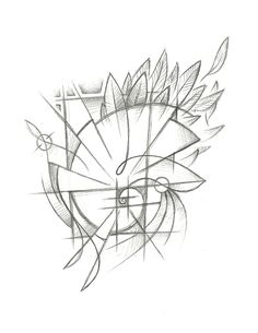 Lauren's Fibonacci Spiral | TREEHOUSE TATTOO STUDIO