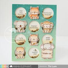 MAMA ELEPHANT Mini Everyday Messages | Stamp Highlight - Lemon Tea Crafts