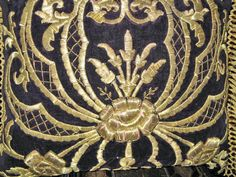 Detail of Turkish Gold Embroidery, c.1900.