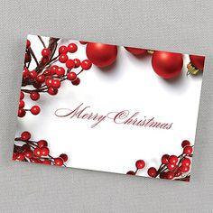 Christmas Trimmings Postcard
