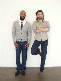 "Actor Anson Mount, right, and actor Common pose for a portrait during The Television Critics Association 2011 Summer Press Tour in Beverly Hills, Calif. on Thursday, July 28, 2011. Mount and Common are appearing in the upcoming television series ""Hell on Wheels"" on AMC."