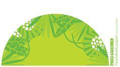 Kakkupaperi pyöreä | lasten | juhlat | syntymäpäivät | synttärit | onnittelukortti | askartelu | paperi | paper | DIY ideas | birthday |cake paper | kid crafts | Pikku Kakkonen | yle.fi/lapset