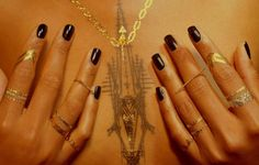 Temporary tattoos that double as jewelry