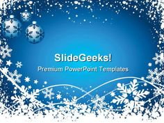 Animated Christmas PowerPoint Slides | snowflake_background_christmas_powerpoint_templates_and_powerpoint ...