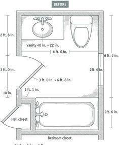 Bathroom Plans 6X8 - Home Design