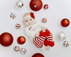 Baby and Ornaments