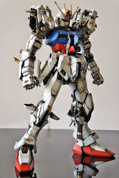 PG 1/60 Strike Gundam 'Open Maintenance Hatch' - Customized Build Modeled by Skull