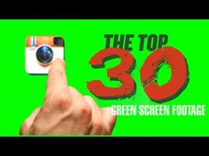 Top 30 Green Screen Footage Free Download V.1 - YouTube