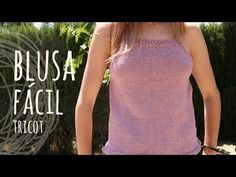 How to knit women's short sleeve sweater - video tutorial with detailed instructions Baby Knitting Patterns, Blouse Pattern Free, Blouse Patterns, Summer Knitting, Easy Knitting, Skirt Tutorial, Crochet Blouse, Crochet Clothes, Sweaters For Women
